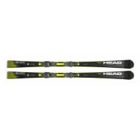 Комплект Supershape e-Speed SF-PR + PRD 12 GW BRAKE 85 [F] (313320+100833) (горные лыжи+крепления гл) black/neon yellow